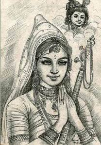 Mira Bai, one of India's best-loved women saints, who was more devoted to God than she was to her husband...